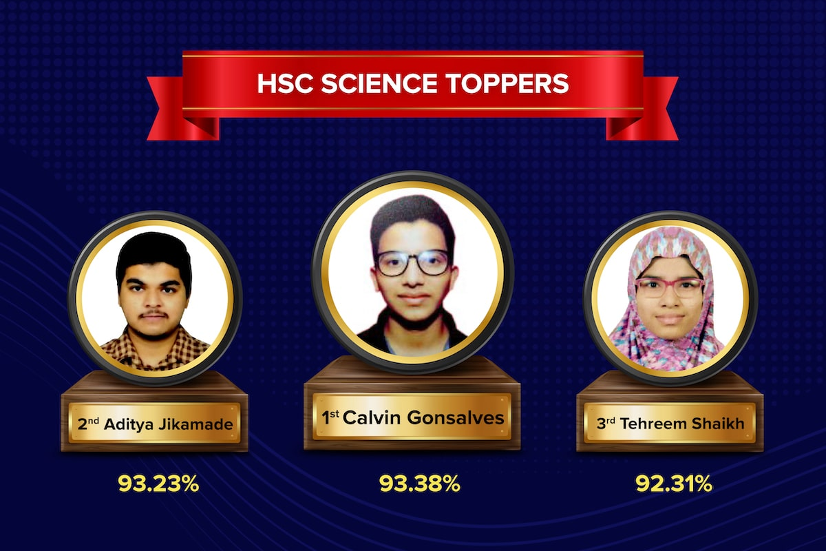 Arihant Academy HSC Science Toppers New